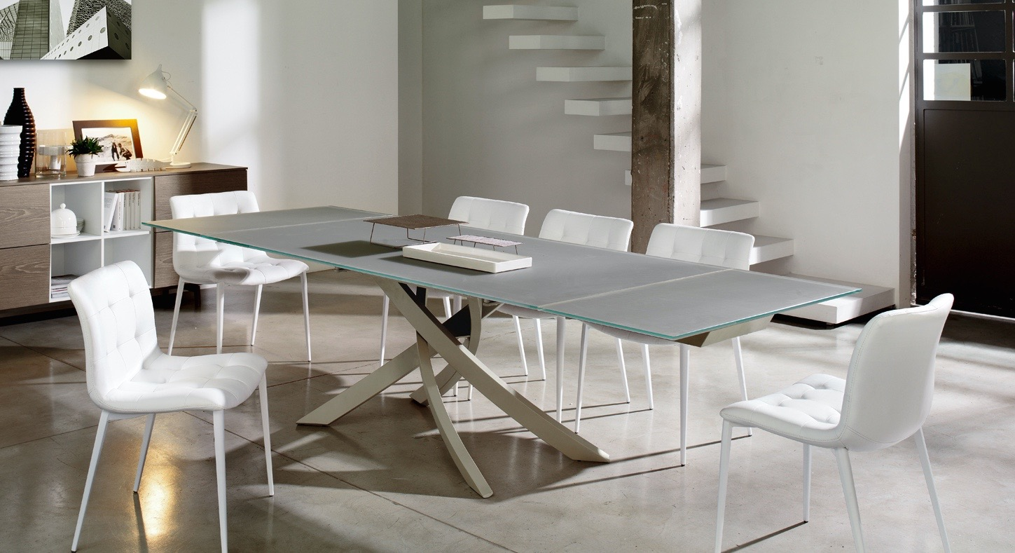 The Modern Extension Dining Table Collection at Mscape Mscape