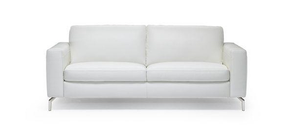 Natuzzi-White-Leather-Sofa 2