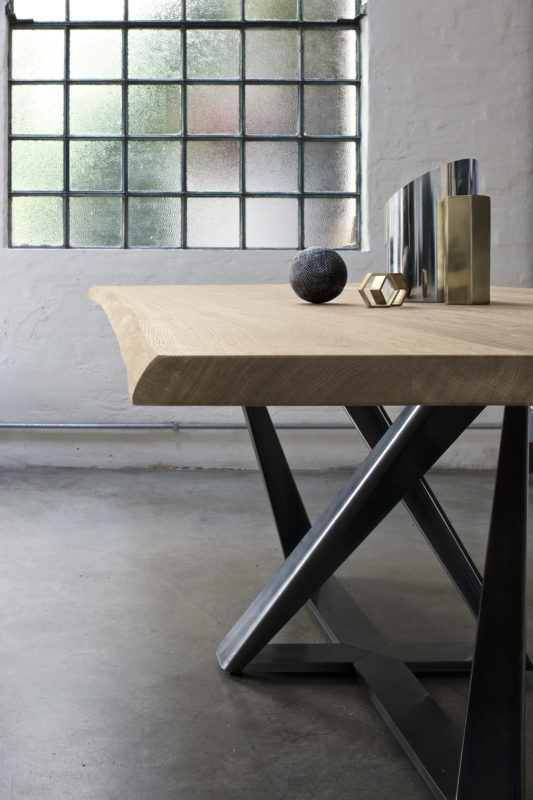Modern Solid Oak Dining Table