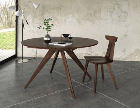 Copeland Round Extension Table